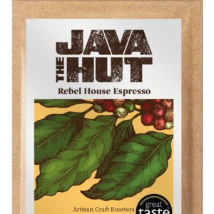 Rebel House espresso, award winning gourmet coffee made in Ireland