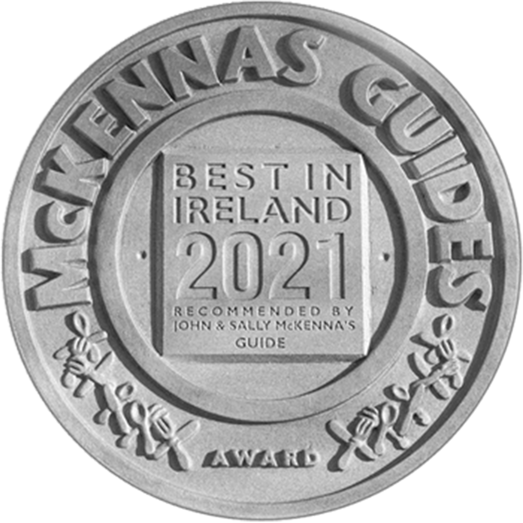 McKennas guide award for our coffee